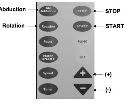 Kinex KS2TM Shoulder CPM Instructions