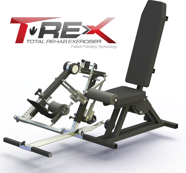 T-REX Knee Rehab System a non-surgical treatment for Range of Motion loss to the Knee